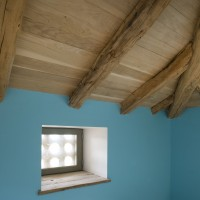 Travaux de charpente, voligeage et isolation par l'extérieur (laine de bois)