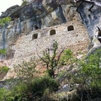 Le chateau des anglais à Brengues © P.Andlauer - PNRCQ