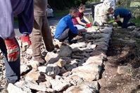 Restauration Murets-Chantier participatif