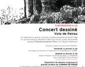 """Balade et concert dessiné avec Troubs autour de """"Chemin de Pierres"""""""