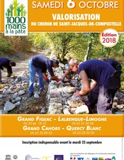 1000 Mains à la Pâte pour le GR65 - 4ème édition (départ de Varaire)
