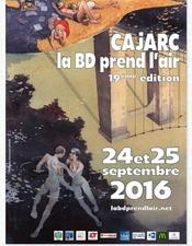 Affiche Salon BD Cajarc 2016