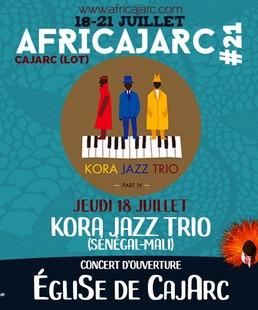 Concert D'ouverture Africajarc Kora Jazz Trio
