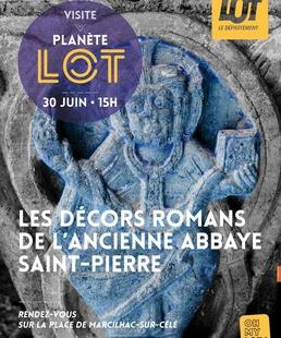 Visite Guidée : les Décors Romans de l'ancienne Abbaye Saint-Pierre