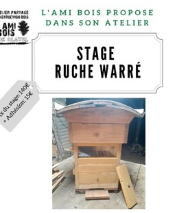 Stage de fabrication de ruche Warré