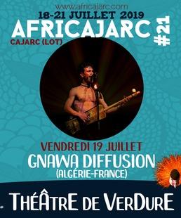 """Concert Africajarc """"Gnawa Diffusion"""" - """"Alchimix"""" - """"Balaphonik sound system"""""""