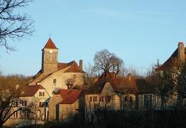 Carlucet : Village et son Eglise