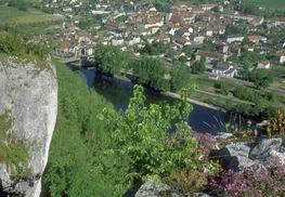 Cajarc - Vue du Village