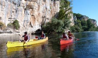 Kalapca Loisirs - Base Port de Bouzies - Canoë Kayak - Bouziès