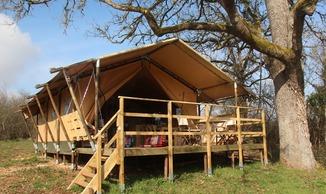 En Tente Lodge à Poudally - Lalbenque
