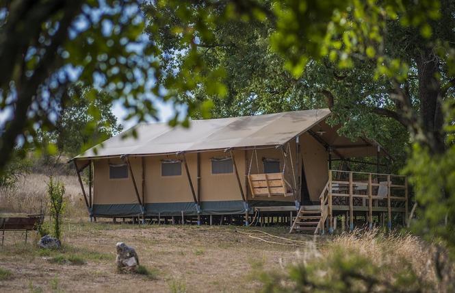En Tente Lodge à Poudally 2 - Lalbenque