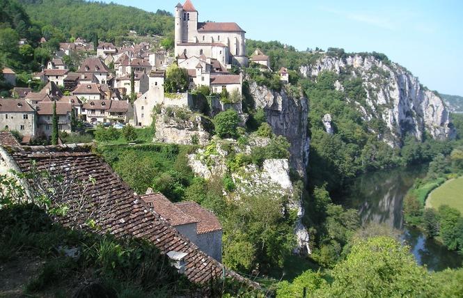 GR36 de Laramière à Bonaguil, en passant par Saint Cirq Lapopie, Cahors et la vallée du Lot 1 - Laramière