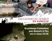 Lancement des Causses du Quercy en famille, dimanche 12 avril