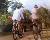 Des vélos électriques dans le Parc