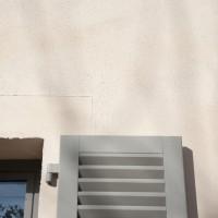Rénovation, murs enduits et jointés