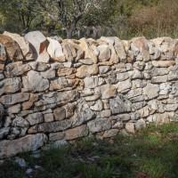 Réfection de murets de clôture