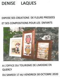 Expositions Denise Laques 2020