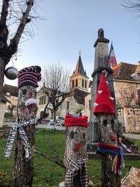 Décorations de Noël d'Espédaillac
