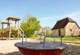 Marais de Bonnefont - Aire de jeux © Lot Tourisme - C. Sanchez