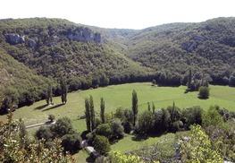 Vue Vallée de la Rauze