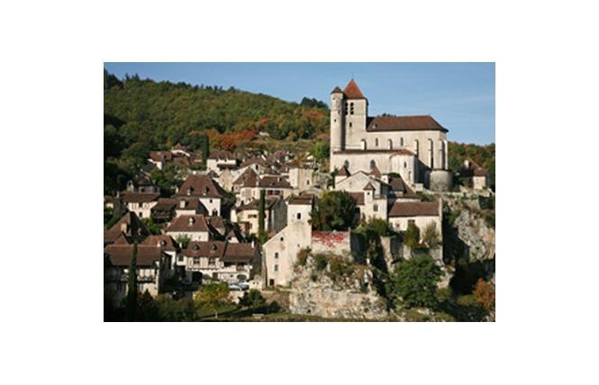 Boucle itinérante - Panorama sur Saint Cirq Lapopie et le Géoparc des Causses du Quercy 4 - Lalbenque