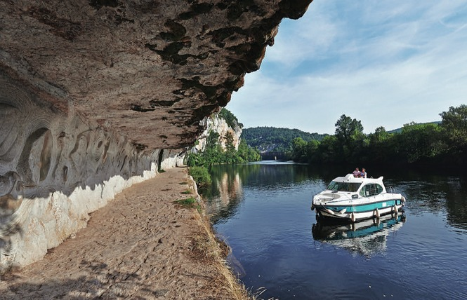 Boucle itinérante - Panorama sur Saint Cirq Lapopie et le Géoparc des Causses du Quercy 3 - Lalbenque