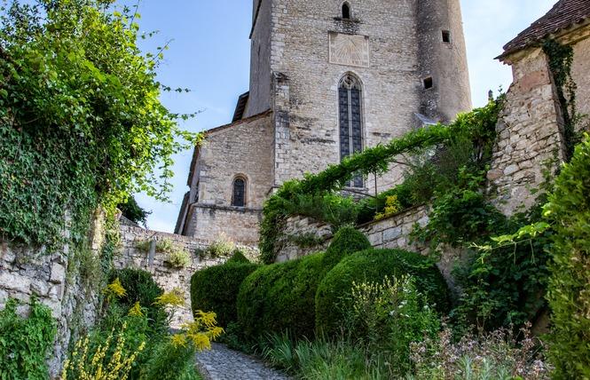 Sur les Hauteurs de Saint-Cirq-Lapopie 3 - Saint-Cirq-Lapopie