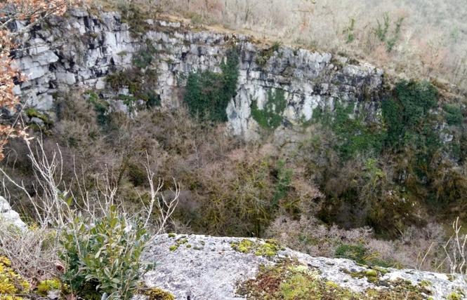 Le sentier karstique de l'igue de Crégols 6 - Crégols