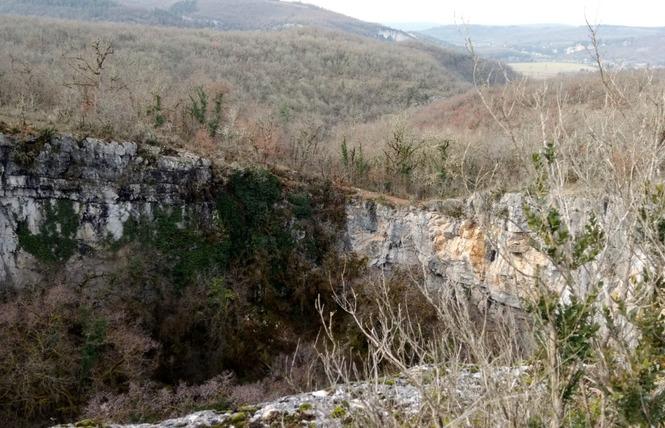 Le sentier karstique de l'igue de Crégols 7 - Crégols