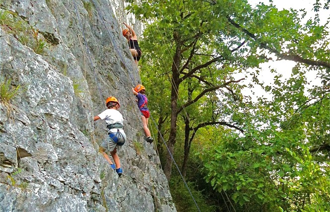 Kalapca Loisirs - Escalade et parcours falaises 4 - Bouziès