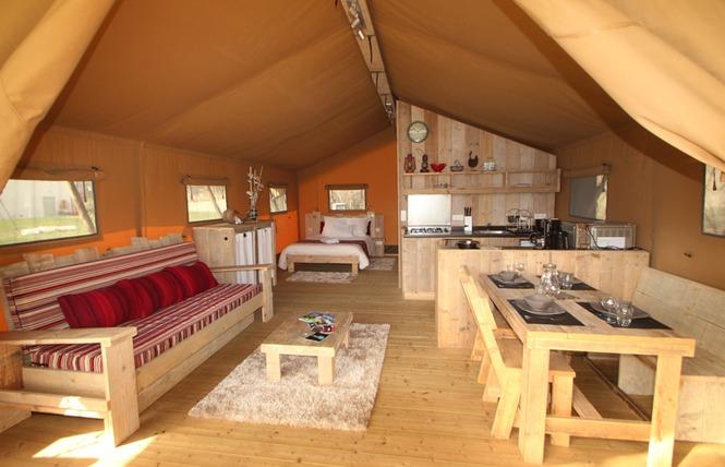 En Tente Lodge à Poudally 3 - Lalbenque