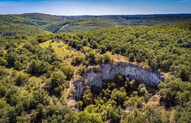 Le sentier karstique de l'igue de Crégols 1 - Crégols